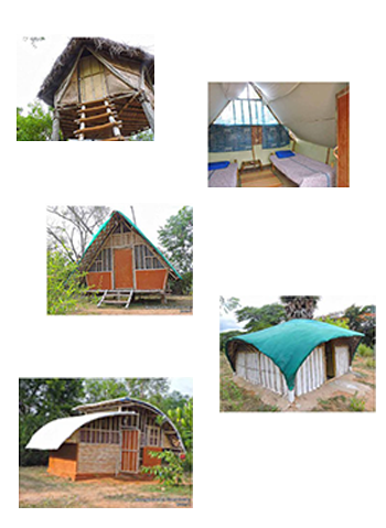 Accommodation at Bamboo Centre: