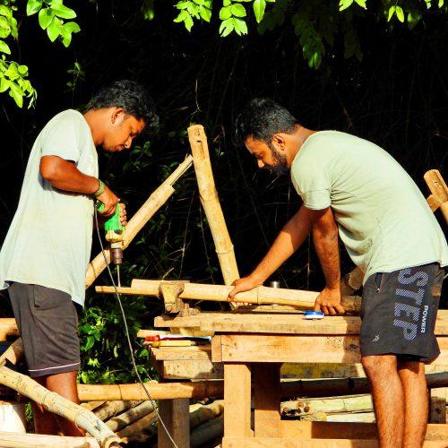 Bamboo Summer School in Auroville